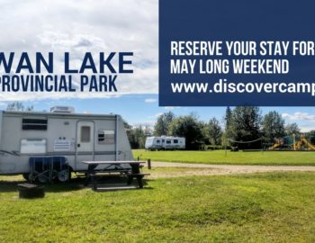 Reserve a campsite at Swan Lake Provincial Park